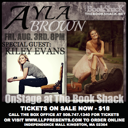 Bookshack Poster-Ayla & Kiley