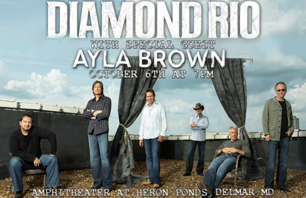 Ayla Brown and Diamond Rio!