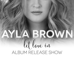 """Let Love In"" CD Release Show Announced!"