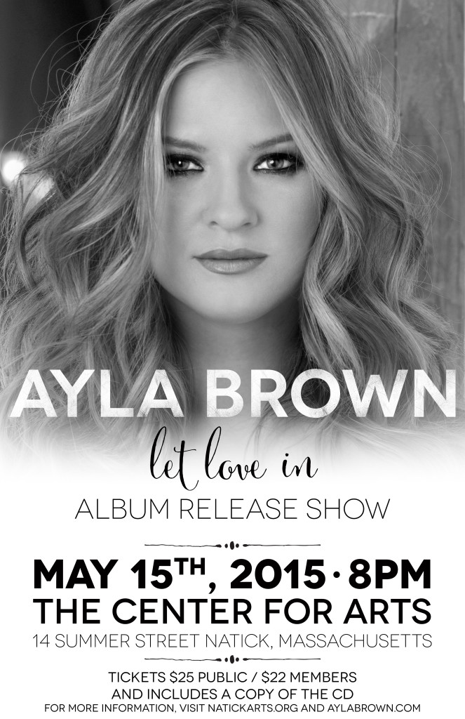 Let Love In CD Release Show Poster